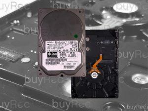 Produkt Festplatte beraubt